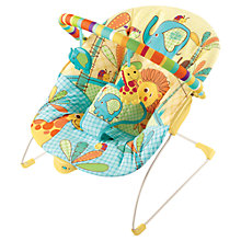 Buy Bright Starts Sunnyside Safari Bouncer Online at johnlewis.com