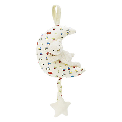 Buy Jellycat Bedtime Bear Musical Pull Toy Online at johnlewis.com