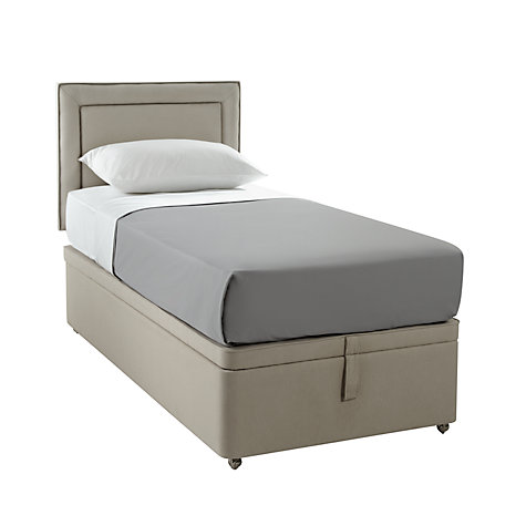 Buy John Lewis Pocket Ortho 1000 Mattress and Maxi Store Divan Set, Single Online at johnlewis.com