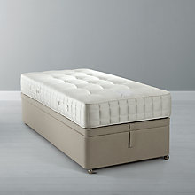 Buy John Lewis Pocket Ortho 1600 Mattress and Maxi Store Divan Base, Single Online at johnlewis.com