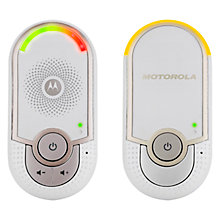 Buy Motorola MBP8 Digital Audio Baby Monitor Online at johnlewis.com