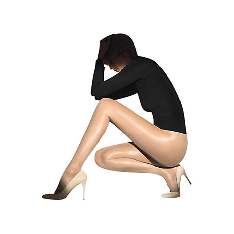 Buy Wolford 20 Denier Satin Finish Tights, Nude Online at johnlewis.com