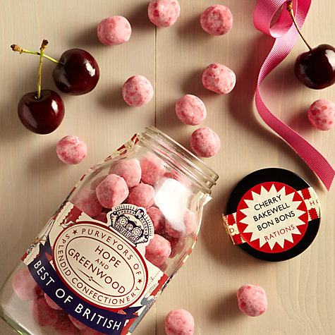 Buy Hope & Greenwood Cherry Bakewell Bon Bons, 320g Online at johnlewis.com