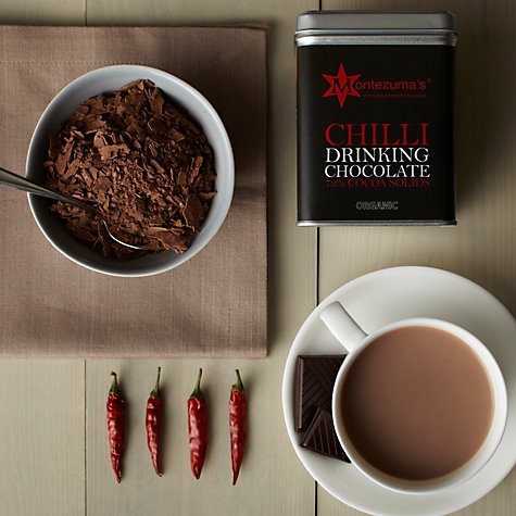 Buy Montezuma's Dark Chilli Drinking Chocolate, 250g Online at johnlewis.com