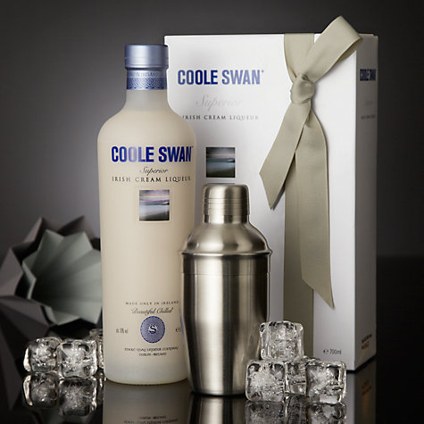 Buy Coole Swan Irish Cream Liqueur and Cocktail Shaker Set Online at johnlewis.com