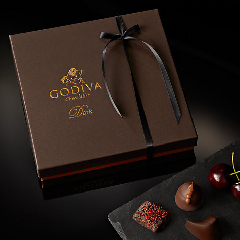 Buy Godiva Connoisseur Dark Chocolate Caraques, 185g Online at johnlewis.com