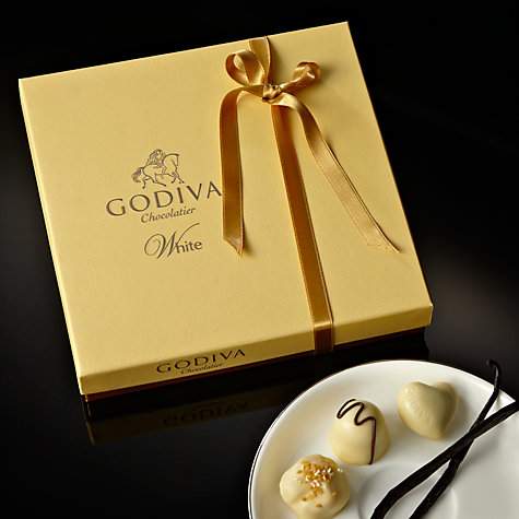 Buy Godiva Connoisseur White Chocolate Caraques, 240g Online at johnlewis.com
