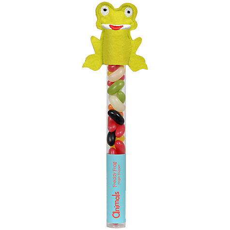 Buy Animals Freddy Frog Jelly Beans Finger Puppet, 60g Online at johnlewis.com