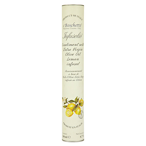 Buy Il Boschetto Lemon Infused Extra Virgin Olive Oil, 200ml Online at johnlewis.com