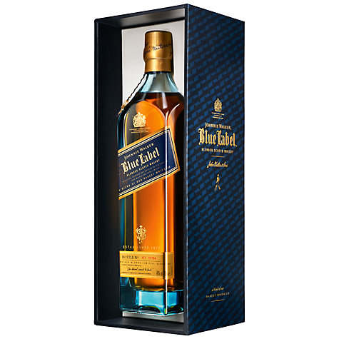 Buy Johnnie Walker Blue Label and Crystal Glasses Set Online at johnlewis.com