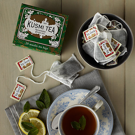 Buy Kusmi Spearmint Tea Bags, Pack of 20 Online at johnlewis.com