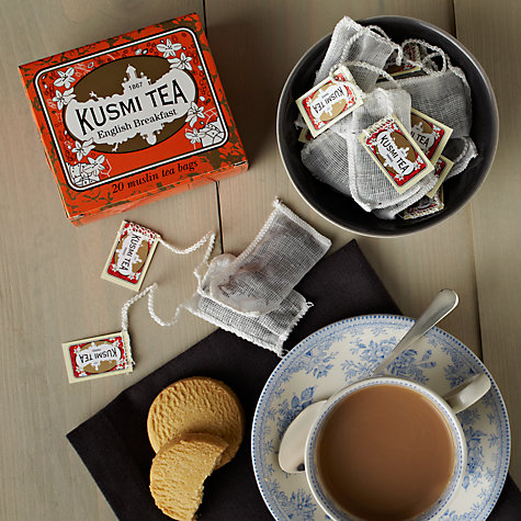 Buy Kusmi Tea English Breakfast Tea Bags, Pack of 20, 44g Online at johnlewis.com