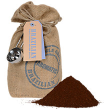 Buy Brazilian Ground Coffee Bag and Scoop Set, 227g Online at johnlewis.com