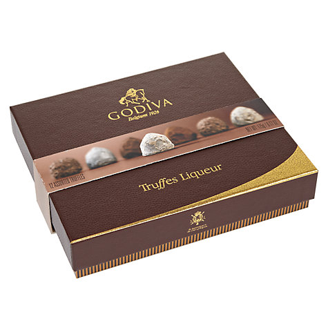 Buy Godiva Assorted Truffles Liqueur, 175g Online at johnlewis.com