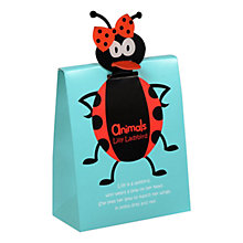 Buy Animals Lilly Ladybird Dot Sweets Pouch, 100g Online at johnlewis.com