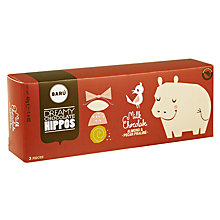 Buy BARU Milk Chocolate Almond Honey Hippos, Pack of 3 Online at johnlewis.com