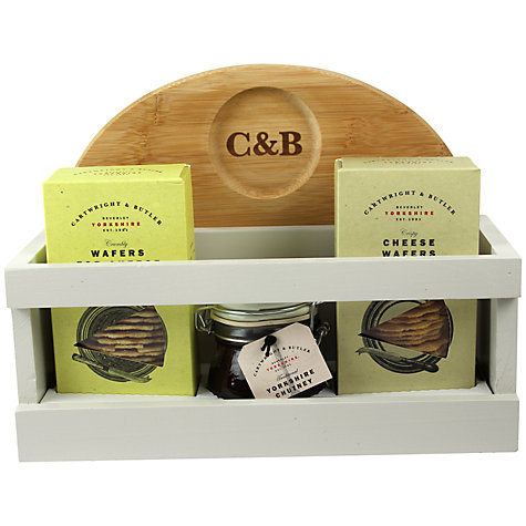 Buy Cartwright & Butler Cheese Board Gift Set Online at johnlewis.com