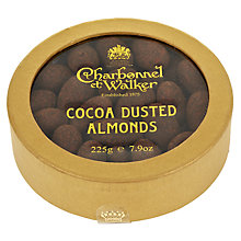 Buy Charbonnel et Walker Cocoa Dusted Almonds, 160g Online at johnlewis.com