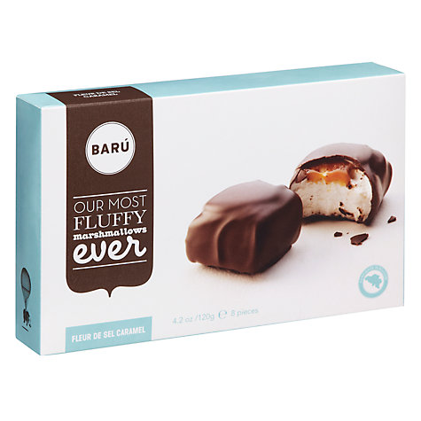 Buy BARU Dark Chocolate Caramel Marshmallow, Pack of 8 Online at johnlewis.com