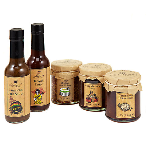 Buy Edinburgh Preserves Grilling Sauces and Marinades Set Online at johnlewis.com