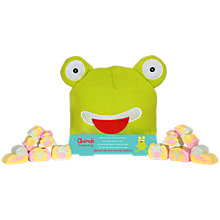 Buy Animals Freddie Frog Mallow Beanie Hat, 75g Online at johnlewis.com
