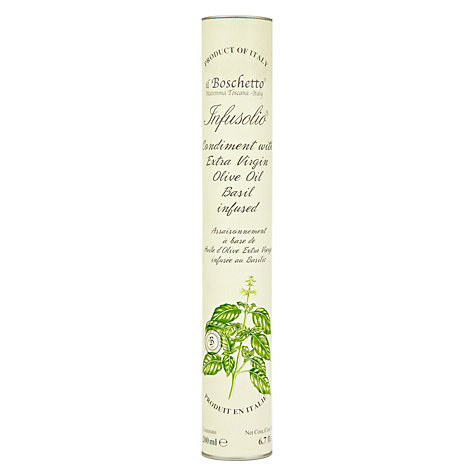 Buy Il Boschetto Basil Infused Extra Virgin Olive Oil, 200ml Online at johnlewis.com