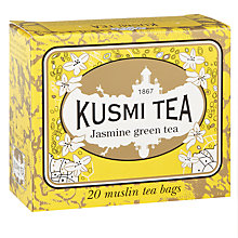 Buy Kusmi Tea Jasmine Tea Bags, Pack of 20, 44g Online at johnlewis.com
