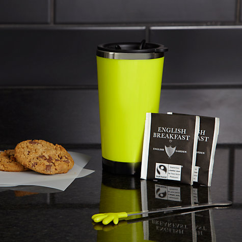 Buy Hugs Green Travel Mug and Tea Set Online at johnlewis.com
