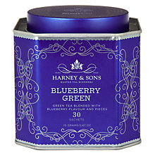 Buy Harney & Sons Blueberry Green Tea Tea Bags, Pack of 30 Online at johnlewis.com
