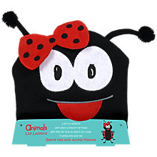Buy Animals Lilly Ladybird Mallow Beanie Hat, 75g Online at johnlewis.com