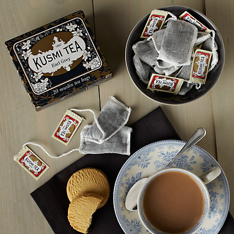 Buy Kusmi Tea Earl Grey Tea Bags, Pack of 20, 44g Online at johnlewis.com