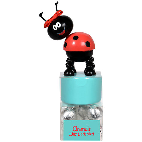 Buy Animals Lilly Ladybird Milk Chocolate Balls Push Toy Set Online at johnlewis.com