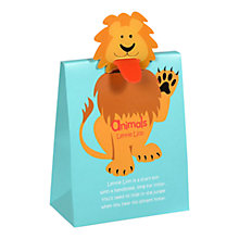 Buy Animals Lennie Lion Fruity Gum Sweet Pouch, 100g Online at johnlewis.com