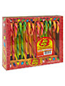 Jelly Belly Cherry Mix Candy Canes, Pack of 12