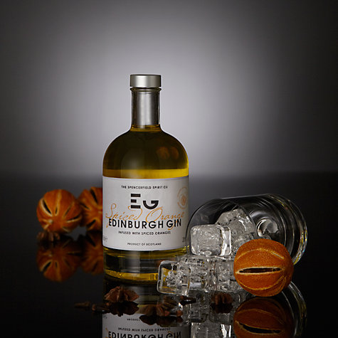 Buy The Spencerfield Spirit Co. Spiced Orange Edinburgh Gin, 50cl Online at johnlewis.com