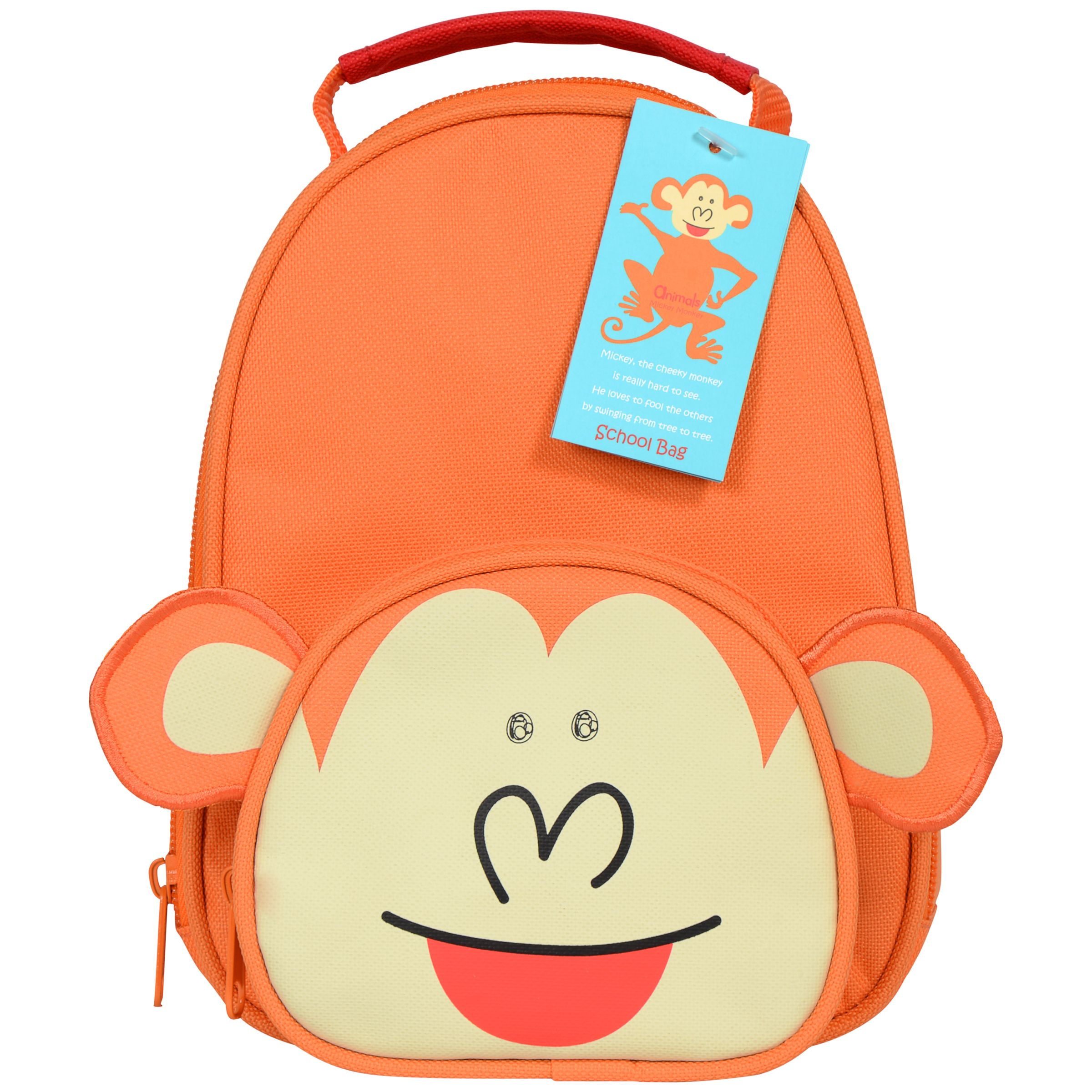 Animals Mickey Monkey Lunch Bag