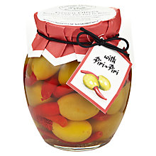Buy Cottage Delight Peri Peri Green Olives, 350g Online at johnlewis.com