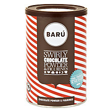 Buy BARU Swirly Hot Chocolate with Figurines, 250g Online at johnlewis.com