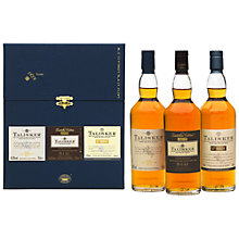 Buy Talisker Malt Whiskey Selection, Set of 3 Online at johnlewis.com