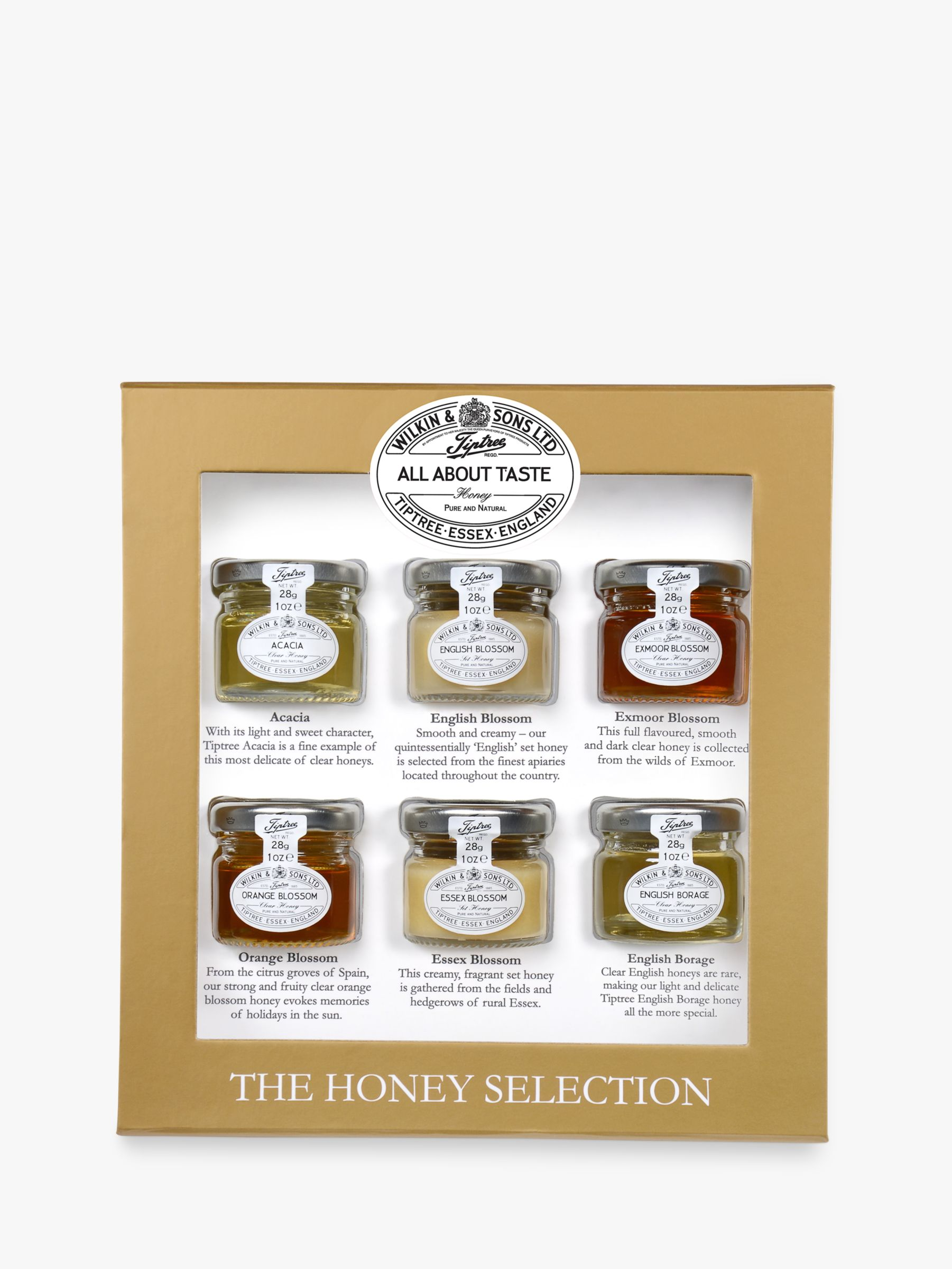 Wilkin & Sons Wilkin & Sons Tiptree Honey Tasting Selection, 168g