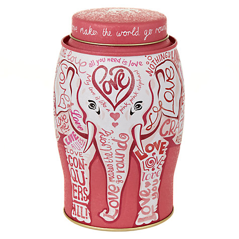 Buy Williamson Tea English Breakfast Tea Breast Cancer Campaign Caddy, 40 bags, 100g Online at johnlewis.com