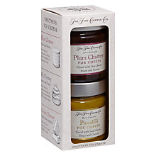 Buy The Fine Cheese Co. Piccalilli and Plum Chutney Duo, 226g Online at johnlewis.com