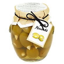 Buy Cottage Delight Green Olives With Almonds, 350g Online at johnlewis.com