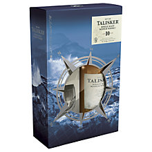 Buy Talisker 10 Year Old Scotch Whisky and Glasses Set, 70cl Online at johnlewis.com