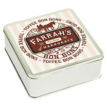 Buy Farrah's Toffee Bon Bons Tin, 100g Online at johnlewis.com
