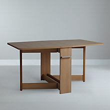Buy Leon Pfeifer for John Lewis Croyde 6 Seater Drop Leaf Folding Dining Table Online at johnlewis.com