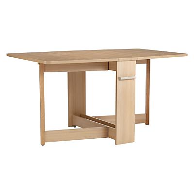 pfeifer for john lewis croyde 6 seater drop leaf folding dining table