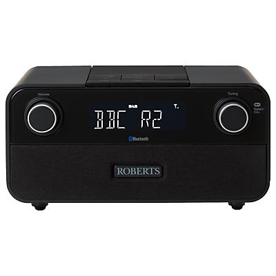 roberts blutune 50 2 1 bluetooth dabdabfm digital radio black. Black Bedroom Furniture Sets. Home Design Ideas