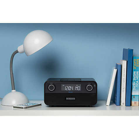 Buy ROBERTS Blutune 50 2.1 Bluetooth DAB/DAB+/FM Digital Radio, Black Online at johnlewis.com
