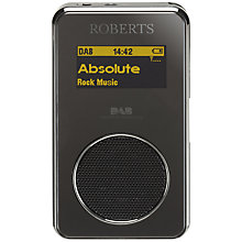 Buy ROBERTS Sports DAB 3 Personal Stereo Radio Online at johnlewis.com